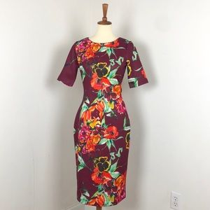 New York & Company | Floral Midi Sheath Dress